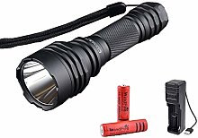 LED Torch Rechargeable, Super Bright 1200 Lumens