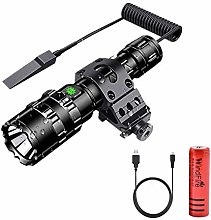 LED Torch, WindFire Tactical Hunting Torch 5000