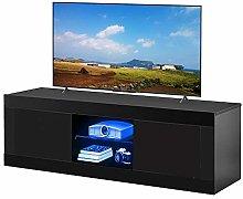 LED TV Stand Cabinet Unit Modern 120/125cm TV Desk