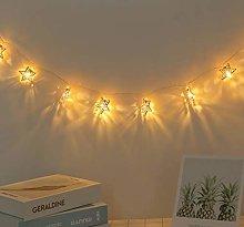LED Twinkle String Lights, Battery Powered 10 LEDs