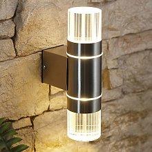 LED Up Down Garden Outdoor Wall Light - IP44