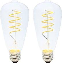 LED Vintage Edison Light Bulbs 4w Dimmable Retro