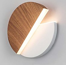 LED Wall Lamp 10W White Round Wall Lighting/Inside