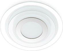LED Wall Light 'Arima' (modern) in White