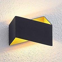LED Wall Light 'Assona' (Modern) in Black
