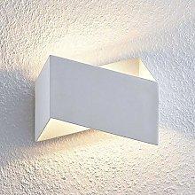 LED Wall Light 'Assona' (Modern) in White