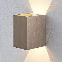 LED Wall Light 'Jorden' (modern) in Silver
