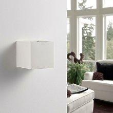 LED Wall Light 'Kay' (modern) in White