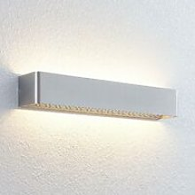 LED Wall Light 'Lonisa' (modern) in Silver