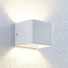 LED Wall Light 'Lonisa' (modern) in White