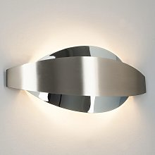 LED Wall Light 'Lonna' (modern) in Silver