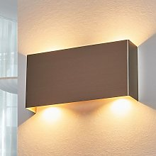 LED Wall Light 'Manon' (modern) in Silver