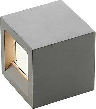 LED Wall Light 'Quaso' in Silver (1 light