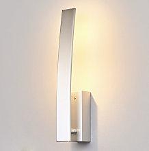 LED Wall Light 'Xalu' (modern) in Silver