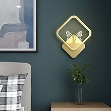 LED Wall Sconce Lighting Indoor Square Wall Lamp,