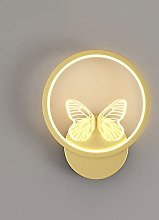 LED Wall Sconces Modern Wall Light Butterfly Wall