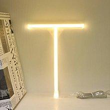 LED Warm White Neon Alphabet Sign Night Lights