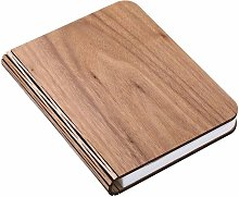 LED Wooden Book Light, Colorful Wood Grain