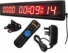 Ledgital 10000 Days Countdown Clock with Hours