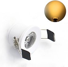 LEDIARY Under Cabinet Mini LED Downlights Recessed