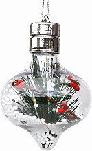 LEDs Fairy Lights Warm White Bulb Shaped