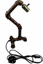 Ledsone - Rustic Rustic Red Metal Water Pipe Style