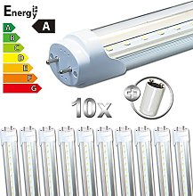 LEDVero 10x SMD LED Tube/Tube Fluorescent Tube T8