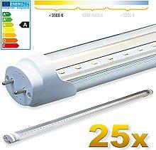 LEDVero 25x SMD LED Tube/Tube Fluorescent Tube T8