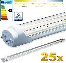 LEDVero 25x SMD LED Tube/Tube Fluorescent Tube