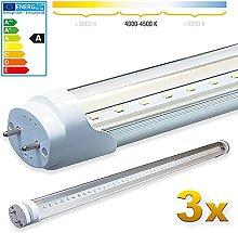 LEDVero 3X SMD LED Tube/Tube Fluorescent Tube with