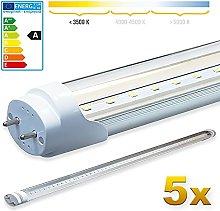 LEDVero 5X SMD LED Tube/Tube Fluorescent Tube with