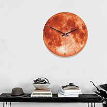 LEEDY Big Black Hole Fitst Photo Wall Clock