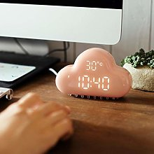 LEEDY Multifunctional Cartoon Cloud Alarm Clock