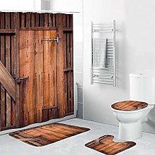 LEEDY Pedestal Rug + Bath Mat and Waterproof