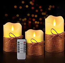 LEEDY Romantic Flameless LED Candles