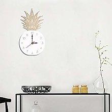 LEEDY Silent Wall Clock Cool Country Wood Clock
