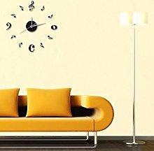 LEEDY Time Clock Art Acrylic Modern Diy Wall Clock
