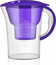 Leeofty 2.5L Transparent Water Pitcher Household