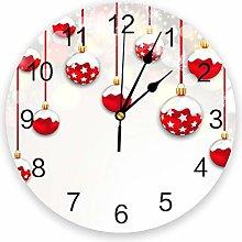 Leeypltm Decorative Wall Clock,Decorative Ball