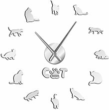 Leeypltm DIY 3D Stickers Clock,American