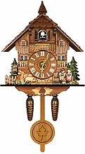 lefeindgdi German Black Forest Cuckoo Clock Retro