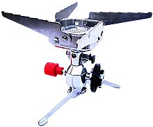 lefeindgdi Outdoor Camping Gas Stove, Gas Furnace