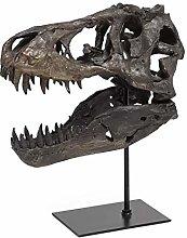 lefeindgdi T-Rex Skull Statue, 1/10 Scale Model of