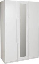 Legato 3 Door Wardrobe - White Gloss