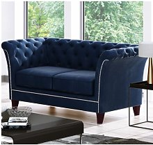 Legault 2 Seater Chesterfield Sofa Rosalind