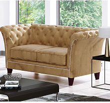 Legault 2 Seater Chesterfield Sofa Rosalind Wheeler