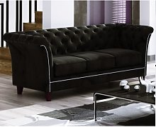 Legault 3 Seater Chesterfield Sofa Rosalind Wheeler