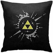 Legend of Zelda Square Pillowcase Soft Plush