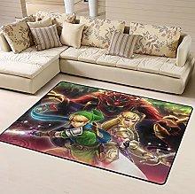 Legend Zelda Breath Wild Area Rug Floor Rugs