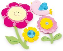 "Legler ""Flowers Stickers Children's"